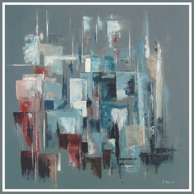 Art Abstrait Contemporain AL41 | Montrealeast